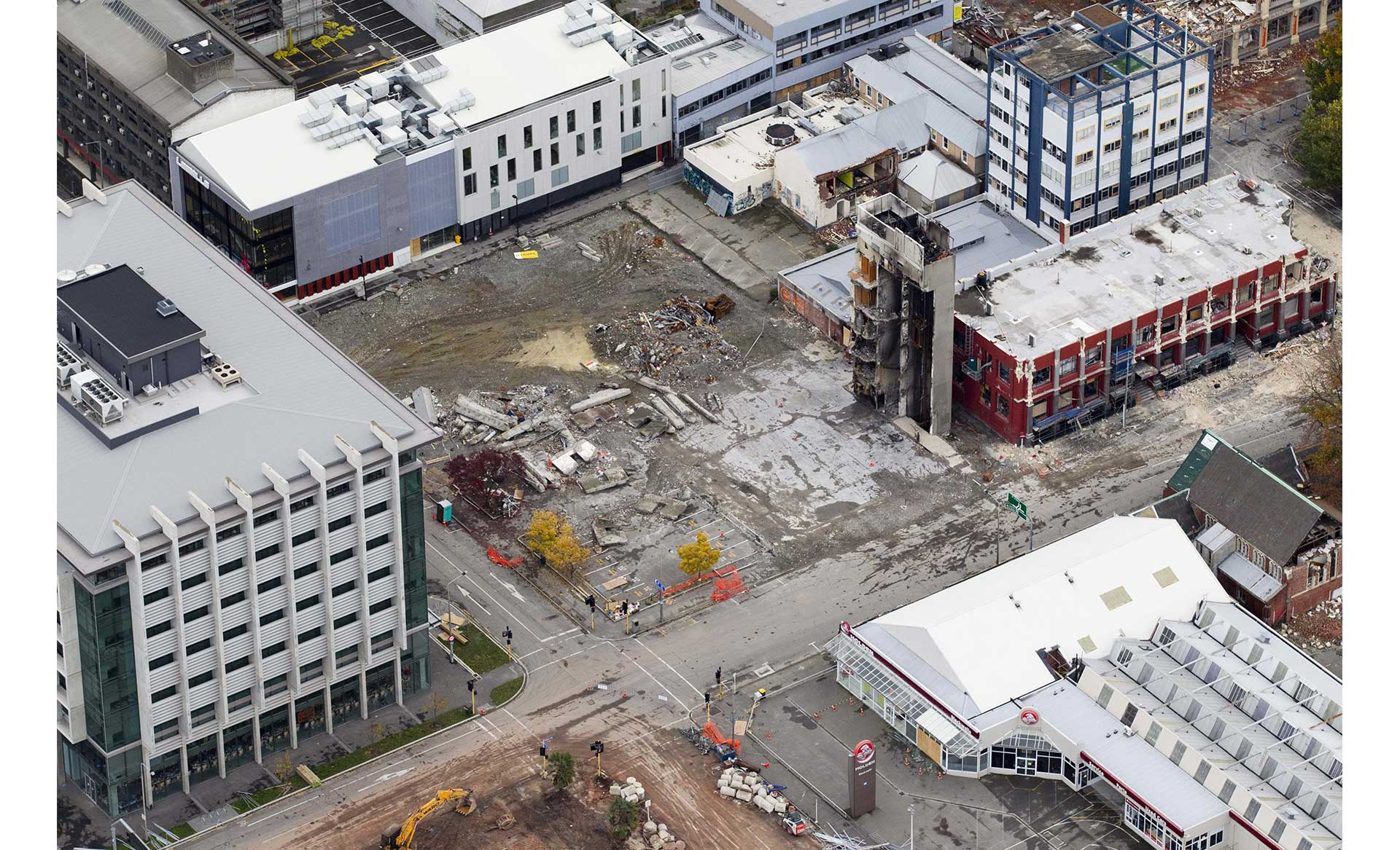 an aerial view of the ctv site in 2021