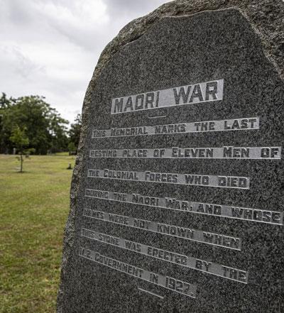 Memorial at Leamington Cemetery