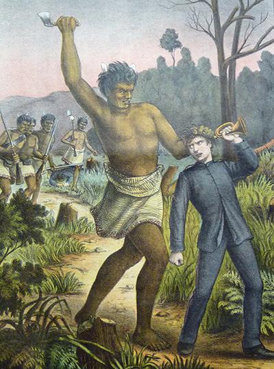 Illustration of the bugler