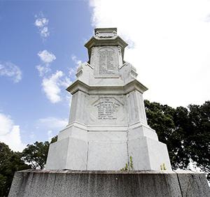 Marsland Hill memorial