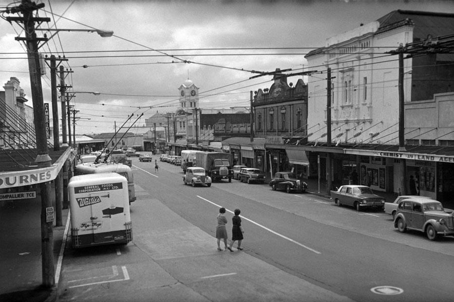 Ponsonby Road in 1964