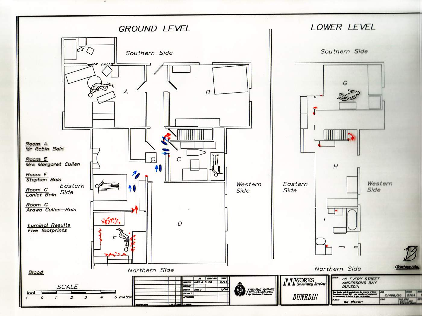 one scale plan of the layout of the bain house and where the bodies were found mr jpg